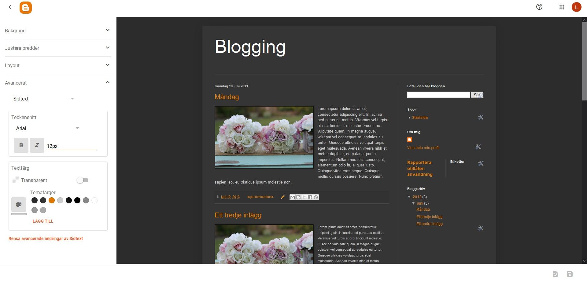 Blogger Gadgets. Nybörjarguide WordPress DNS SEO.