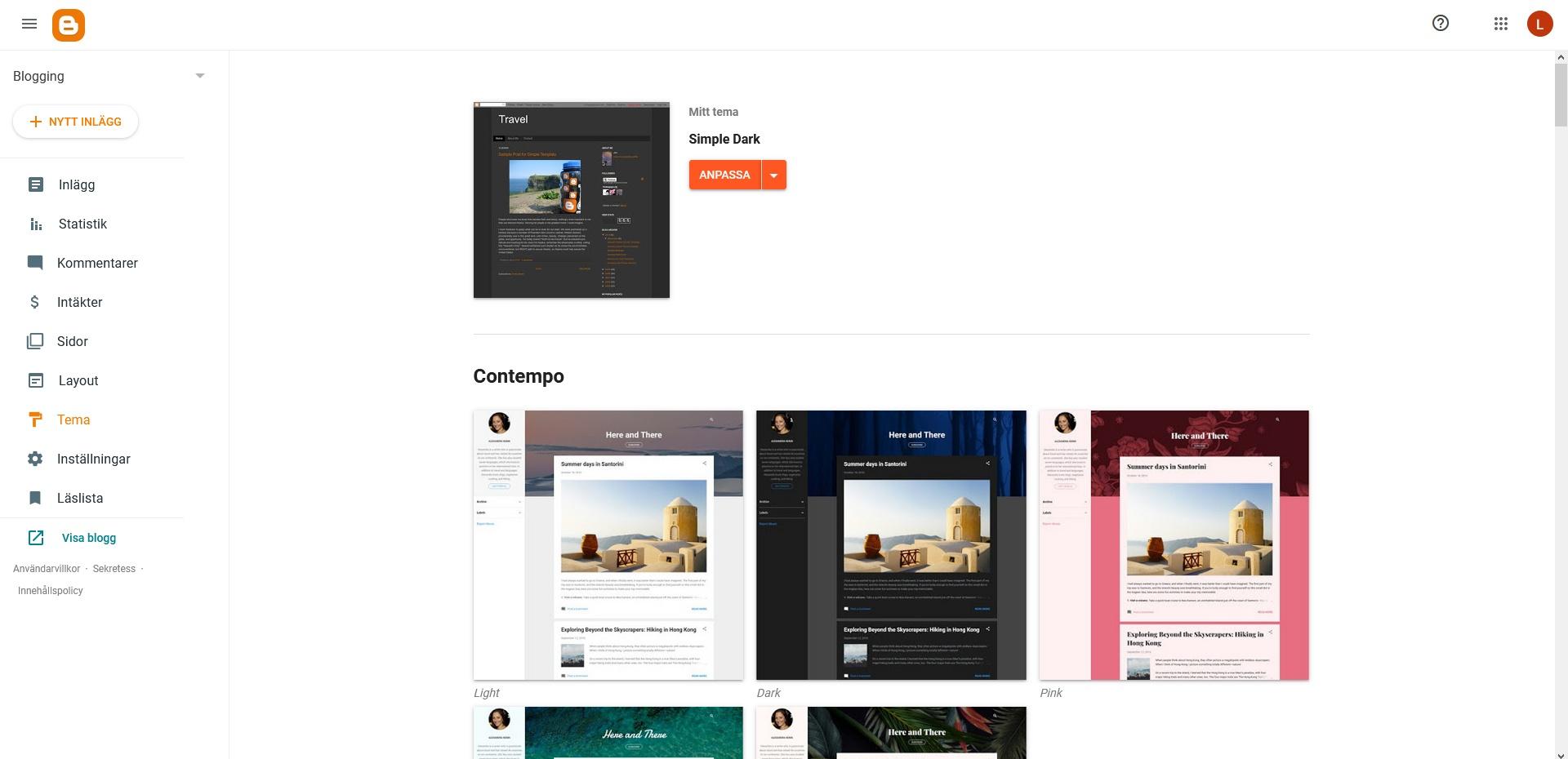 Blogger Themes. Nybörjarguide WordPress DNS SEO.