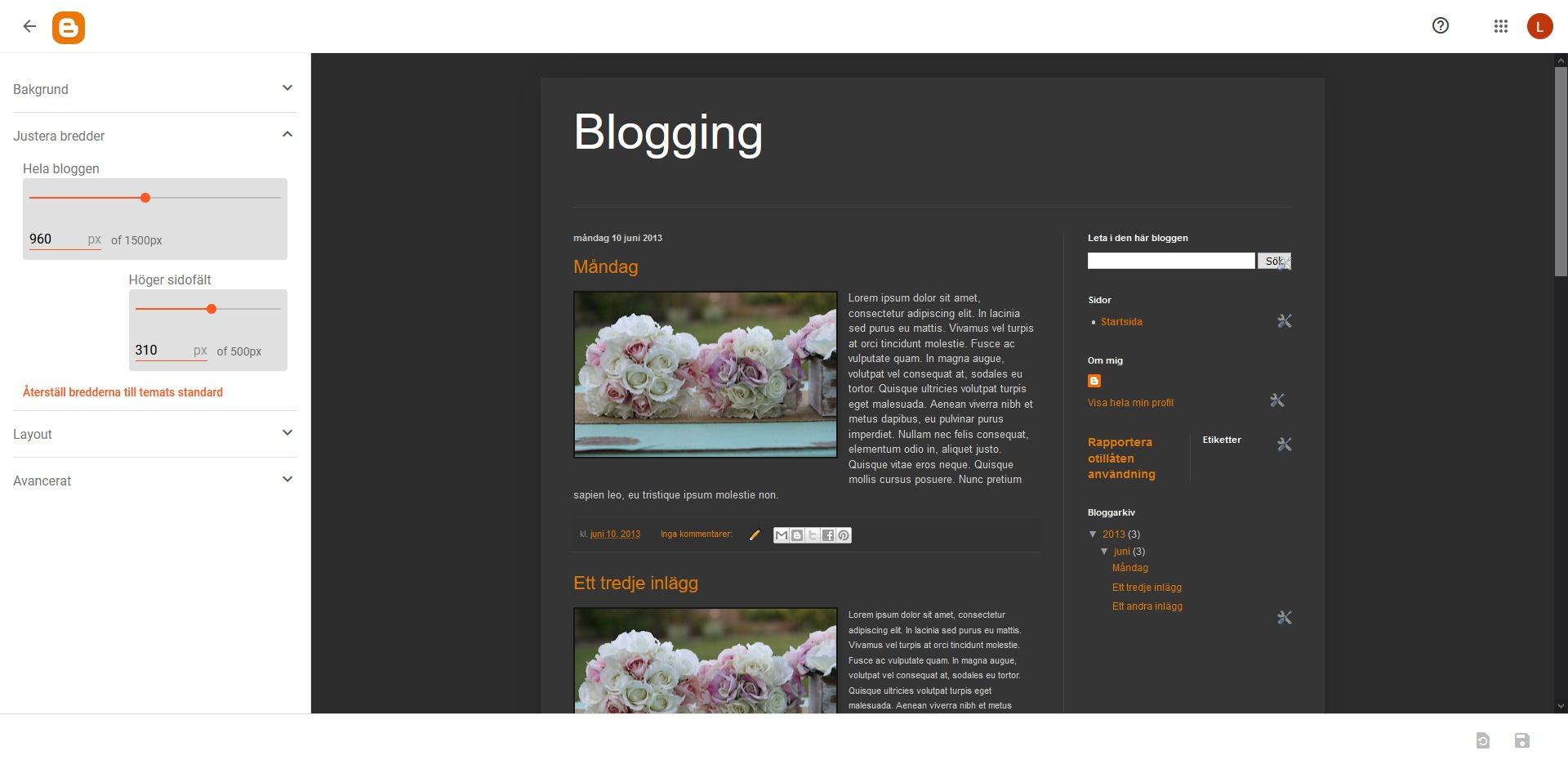 Blogger Theme Widt. Nybörjarguide WordPress DNS SEO.